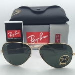 Ray-Ban RB3026 L2846 Aviator Gold Frame G-15 Lenses 62mm