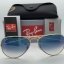 Ray Ban RB3025 001/3f Aviator Blue Gradient 58 mm thumbnail 2