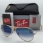 Ray Ban RB3025 001/3f Aviator Blue Gradient 58 mm thumbnail 3