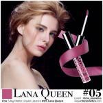 Cho Silky Matte Liquid Lipstick (05 Lana Queen สีชมพูอมม่วงนิดๆ)
