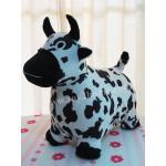 ตุ๊กตายางหุ้มผ้า (ถอดได้) รูปวัว