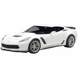 ขาย พรีออเดอร์ โมเดลรถเหล็ก โมเดลรถยนต์ Autoart Chevrolet C7 Z06 ขาว สเกล 1:`18 มี โปรโมชั่น
