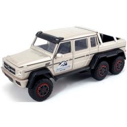 ขาย pre order โมเดลรถเหล็ก โมเดลรถยนต์ Benz G 63 6X6 AMG Jurassic 1:24