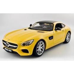 Pre Order โมเดลรถ Benz AMG GT เหลือง 1:18 รุ่นหายากสุดๆ มีโปรโมชั่น
