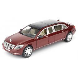 ขาย พรีออเดอร์ โมเดลรถเหล็ก โมเดลรถยนต์ Benz S600 แดง 1:24 มี โปรโมชั่น