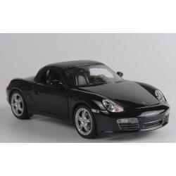 ขาย พรีออเดอร์ โมเดลรถเหล็ก โมเดลรถยนต์ Porsche Boxster ดำ 1:24 มีโปรโมชั่น