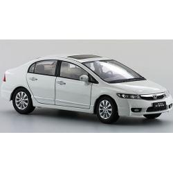Pre Order โมเดลรถ Honda Civic gen 8 2009 ขาว 1:18 รุ่นหายาก งานคุณภาพ มีโปรโมชั่น