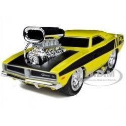 พรีออเดอร์ รถเหล็ก รถโมเดล US Muscle 1969 DODGE CHARGER R/T สีเหลือง Maisto สเกล 1:24