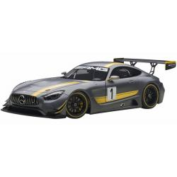 ขาย พรีออเดอร์ โมเดลรถเหล็ก โมเดลรถยนต์ Autoart Benz AMG GT3 ดำด้าน สเกล 1:`18 มี โปรโมชั่น