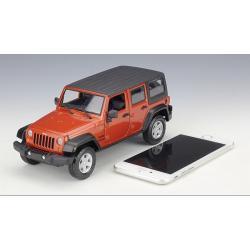 ขาย พรีออเดอร์ โมเดลรถเหล็ก โมเดลรถยนต์ Jeep Red 2015 1:24 สเกล มี โปรโมชั่น