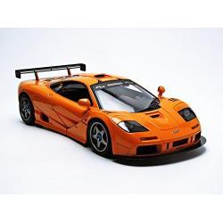 ขาย พรีออเดอร์ โมเดลรถเหล็ก โมเดลรถยนต์ Mclaren F1 LM ส้ม สเกล 1:`18 มี โปรโมชั่น