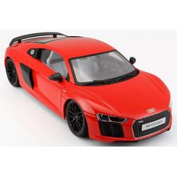 Pre Order โมเดลรถ Audi R8 V10 plus แดง 1:18 รุ่นหายากสุดๆ มีโปรโมชั่น