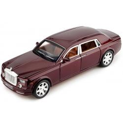 ขาย พรีออเดอร์ โมเดลรถ Roll-Royces Phantom แดง หายาก 1:24 มี โปรโมชั่น