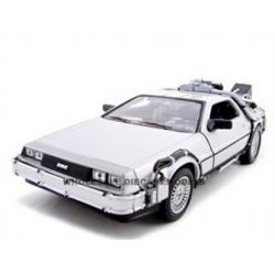 """พรีออเดอร์ รถเหล็ก รถโมเดล US รถ DELOREAN """"BACK TO THE FUTURE 2 time machine"""" สเกล 1:24"""
