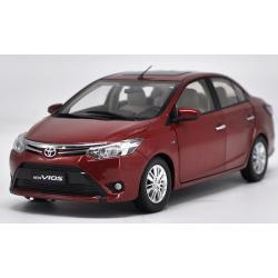 Pre Order โมเดลรถ Toyota New Vios แดง สเกล 1:18 งานคุณภาพ หายากมาก มีโปรโมชั่น