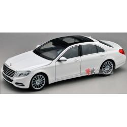 ขาย พรีออเดอร์ โมเดลรถเหล็ก โมเดลรถยนต์ Benz S Class สีขาว สเกล 1:24 มี โปรโมชั่น