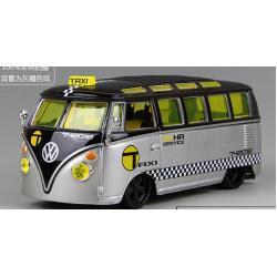 ขาย พรีออเดอร์ โมเดลรถเหล็ก โมเดลรถยนต์ VW BUS TAXI 1:25 สเกล มี โปรโมชั่น