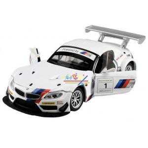 พร้อมส่ง รถโมเดล รถเหล็ก มีไฟมีเสียง BMW Z4 GT3 มี โปรโมชั่น