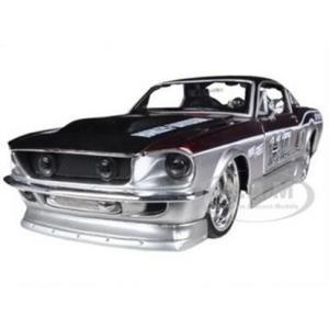 พรีออเดอร์ รถเหล็ก รถโมเดล US 1967 FORD MUSTANG GT HARLEY สีเงิน แดง Special Edition Maisto สเกล 1:24