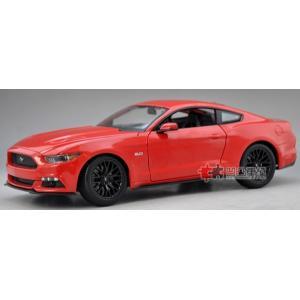 Pre Order โมเดลรถ Ford Mustang 2015 แดง รุ่นหายาก ขายดี มีโปรโมชั่น