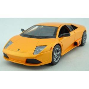 ขาย พรีออเดอร์ โมเดลรถเหล็ก โมเดลรถยนต์ LP640 Murcielago 1:24 เหลือง มี โปรโมชั่น