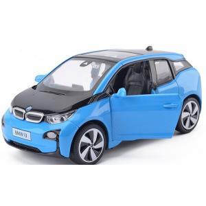 พร้อมส่ง รถโมเดล รถเหล็ก มีไฟมีเสียง BMW I3 1:32 มี โปรโมชั่น