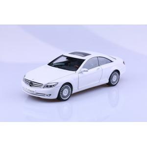 Pre Order โมเดลรถ Benz CL Class ขาว 1:18 รุ่นหายากสุดๆ มีโปรโมชั่น