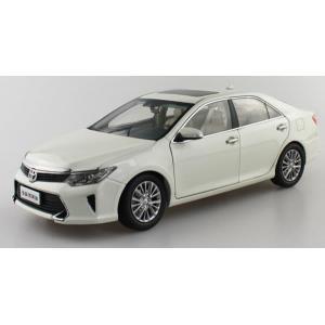 Pre Order โมเดลรถ Toyota Camry 2015 ขาว สเกล 1:18 งานคุณภาพ รุ่นขายดี มีโปรโมชั่น