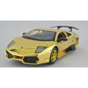 ขาย พรีออเดอร์ โมเดลรถเหล็ก โมเดลรถยนต์ Lamborghini LP670-4 สีทอง 1:24 มี โปรโมชั่น