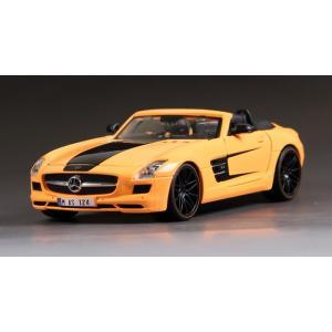 ขาย พรีออเดอร์ โมเดลรถ Benz SLS AMG Roadster ส้ม 1:24 มี โปรโมชั่น
