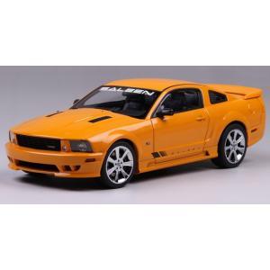 Pre Order โมเดลรถ Ford Saleen S281 1:18 สีส้ม รุ่นหายากสุดๆ มีโปรโมชั่น