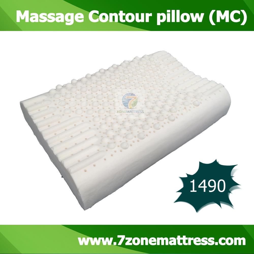 หมอนยางพารา รุ่น Massage Contour Pillow