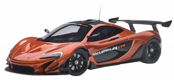 ขาย พรีออเดอร์ โมเดลรถเหล็ก โมเดลรถยนต์ Autoart Mclaren P1 GTR สเกล 1:18 มี โปรโมชั่น