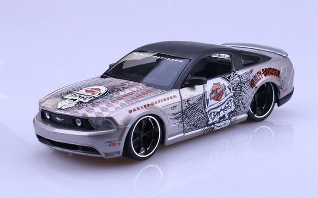 ขาย พรีออเดอร์ โมเดลรถเหล็ก Ford 2011 Mustang 1:24 มีโปรโมชั่น