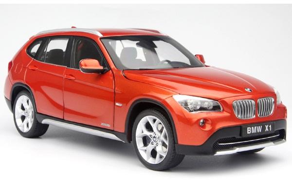 Pre Order โมเดลรถ BMW X1 drive 28i ส้มแดง 1:18 รุ่นหายากสุดๆ มีโปรโมชั่น