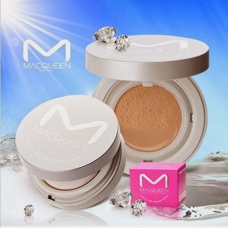 Macqueen Mineral CC Cushion Cover ซีซีครีมสุดเริ่ด แป้งน้ำแม็คควีน