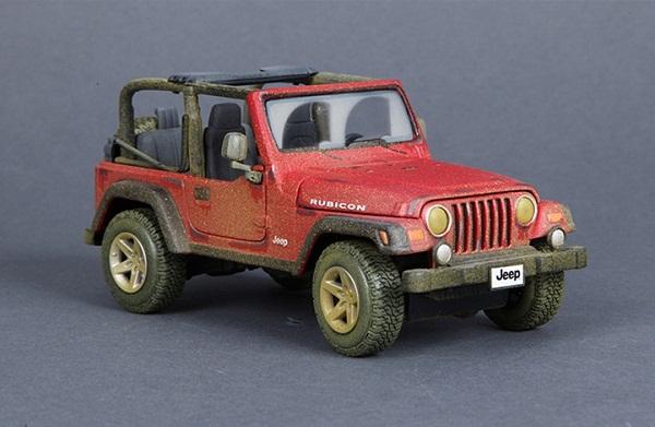 ขาย พรีออเดอร์ โมเดลรถเหล็ก โมเดลรถยนต์ Jeep Wrangler offroad 1:27 สเกล มี โปรโมชั่น