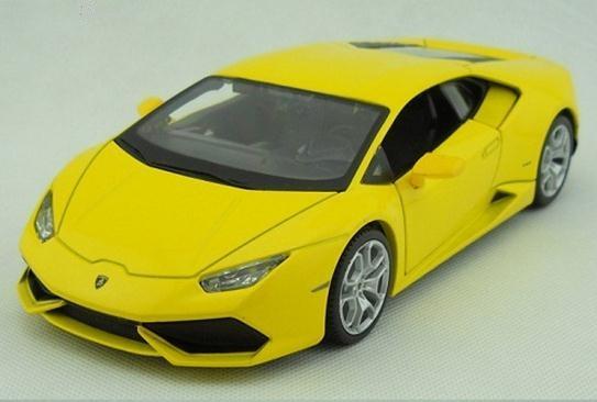พร้อมส่ง โมเดลรถเหล็ก โมเดลรถยนต์ 2014 Lamborghini huracan LP610-4 1:24 สเกล มี โปรโมชั่น