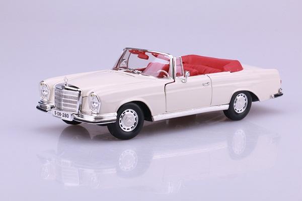 Pre Order โมเดลรถ Benz 280 SE ขาว 1:18 รุ่นหายากสุดๆ มีโปรโมชั่น
