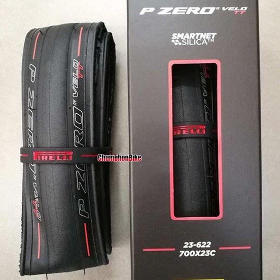 ยางเสือหมอบ Pirelli P Zero Velo TT (แถบแดง)