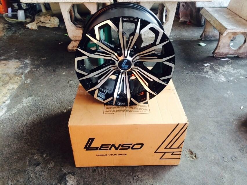 ล้อแท้ LENSO BLACK ANGEL V-5 ขอบ18 ราคาพิเศษ