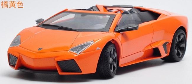 ขาย พรีออเดอร์ โมเดลรถเหล็ก Lamborghini Reventon สีส้ม 1:24 มี โปรโมชั่น