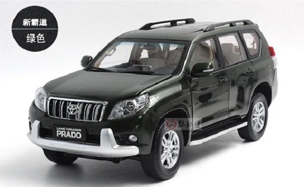 Pre Order โมเดลรถ Toyota Prado สเกล 1:18 งานคุณภาพ รุ่นล่าสุด หายาก มีโปรโมชั่น