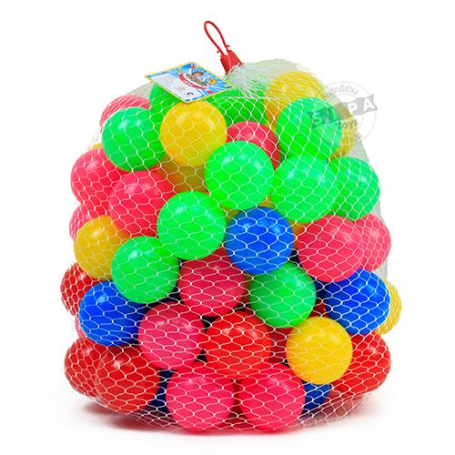ลูกบอล จำนวน 100 ลูก...ฟรีค่าจัดส่ง