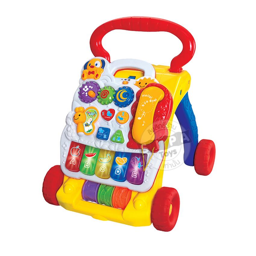 รถผลักเดินดนตรี Music Baby walker ...จัดส่งฟรี