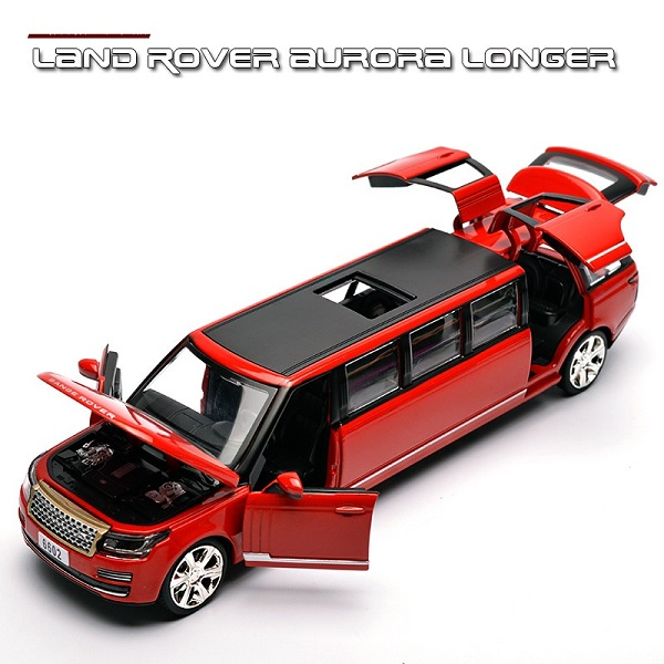 พร้อมส่ง รถโมเดล รถเหล็ก มีไฟมีเสียง Land Rover รถยาว 1:32 มี โปรโมชั่น