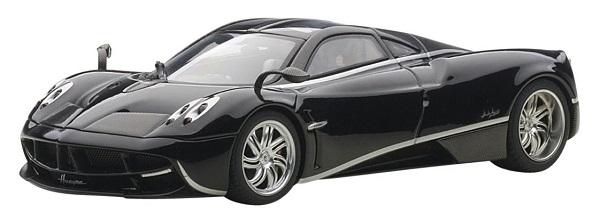 ขาย พรีออเดอร์ โมเดลรถเหล็ก โมเดลรถยนต์ Autoart Pagani Huayra ดำ สเกล 1:43 มี โปรโมชั่น
