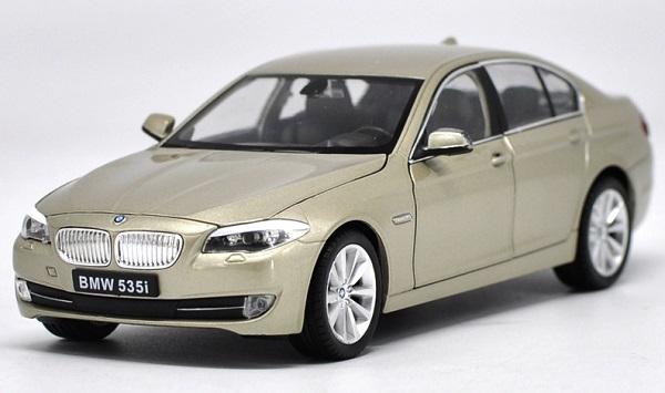 ขาย pre order โมเดลรถยนต์ BMW 535i ทอง 1:24 มี โปรโมชั่น