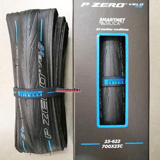 ยางเสือหมอบ Pirelli P Zero Velo 4S (แถบน้ำเงิน)