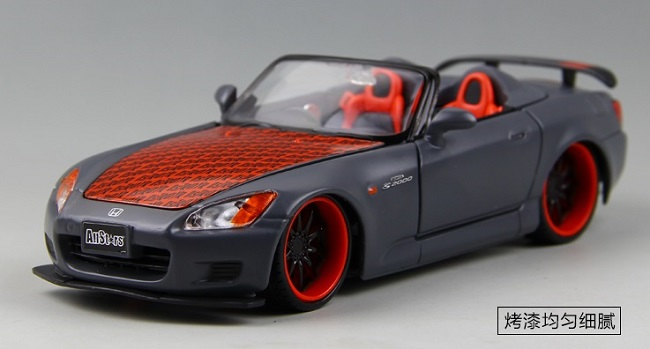 ขาย pre order โมเดลรถเหล็ก โมเดลรถยนต์ Honda S2000 1:24 มี โปรโมชั่น